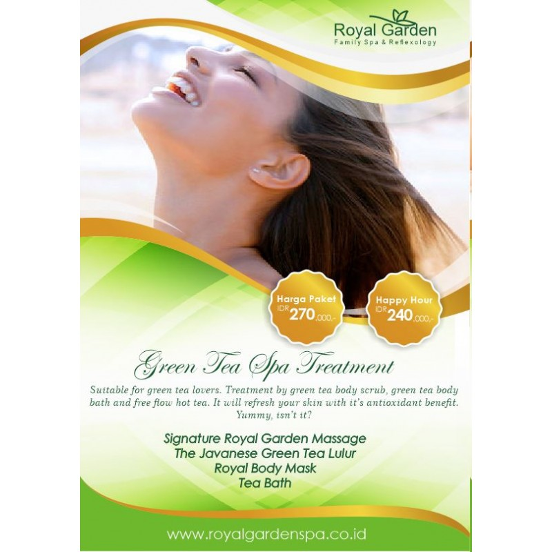 Signature Royal Garden Massage