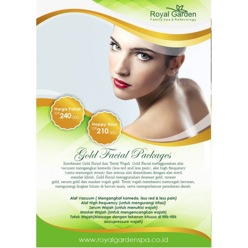 Gold Facial Package