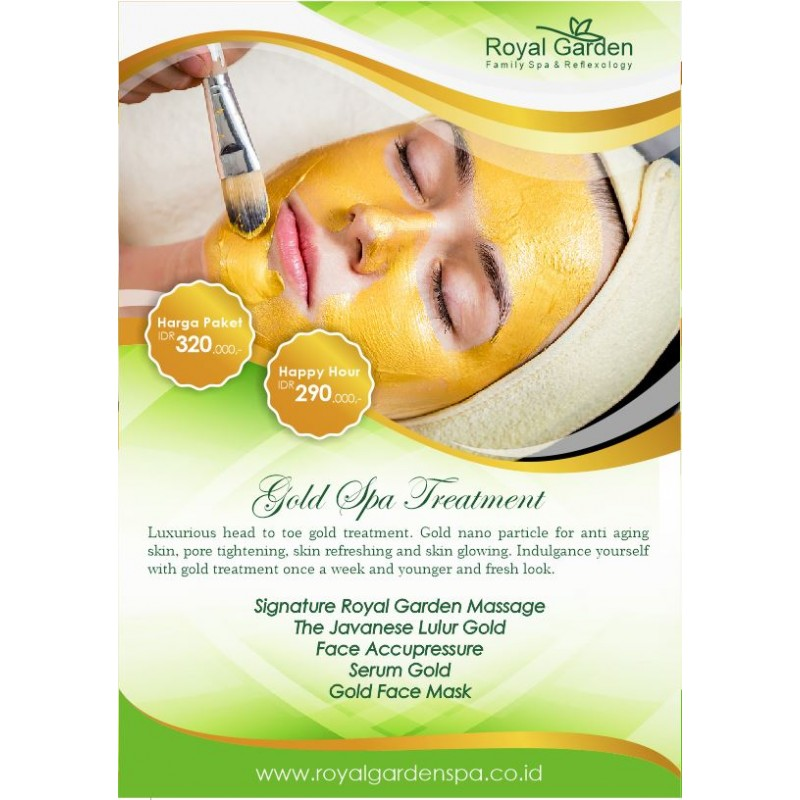Gold Spa Treatment