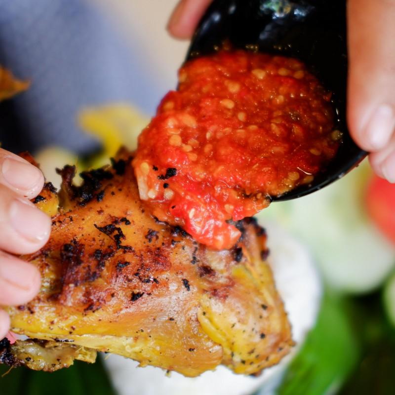 Nasi Ayam Rica Rica