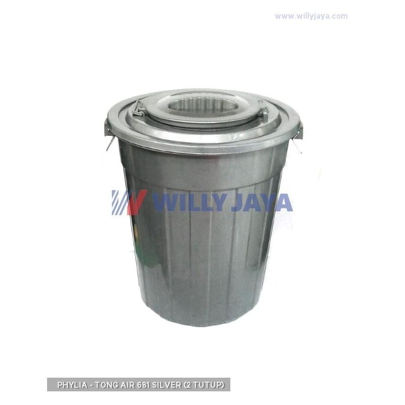 PHYLIA - TONG AIR 681 SILVER (2 TUTUP)
