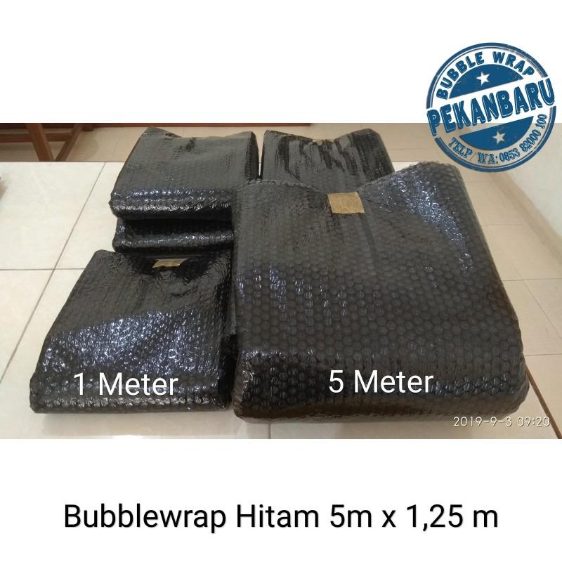Bubble Wrap Hitam di Pekanbaru Riau  Eceran / Meteran