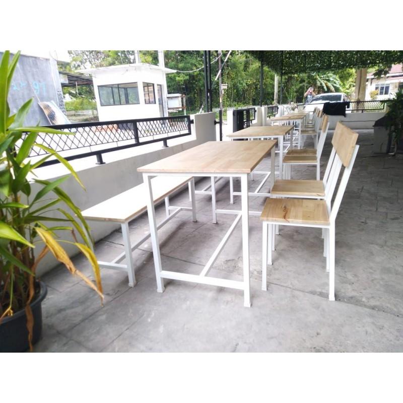 Custom Table Set - Meja Kursi Cafe/ Resto, dll